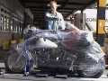 7 mai 2001 transport der maschine. Black Bedroom Furniture Sets. Home Design Ideas